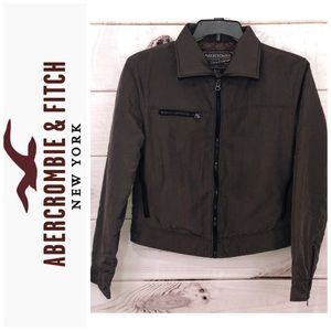 Abercrombie and Fitch dark brown jacket coat